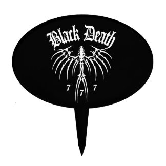 Black Death 777 - End of Season Cake Topper