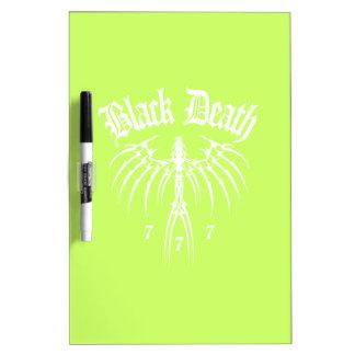Black Death 777 - End of Season Dry-Erase Board