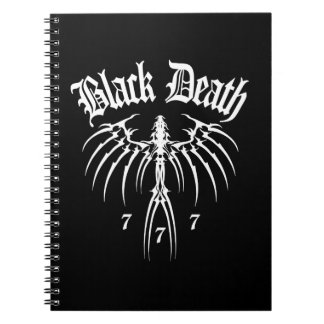 Black Death 777 - End of Season Spiral Note Book