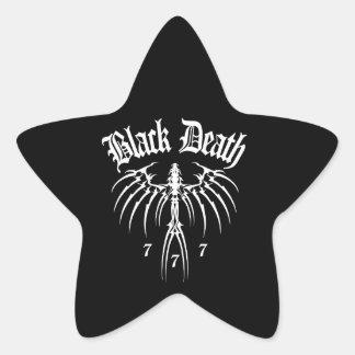 Black Death 777 - End of Season Star Sticker
