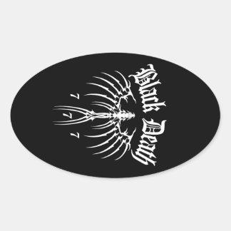 Black Death 777 - End of Season Oval Stickers
