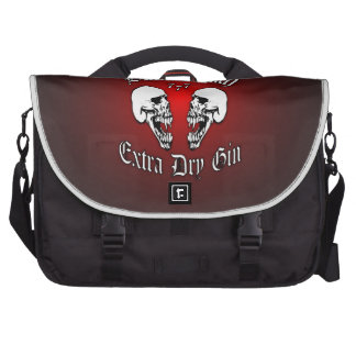 Black Death 777 - Extra Dry Gin Laptop Bags