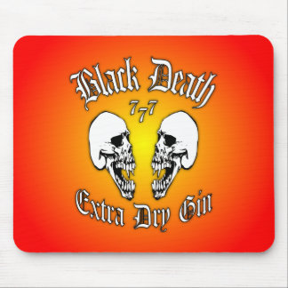 Black Death 777 - Extra Dry Gin Mouse Pad