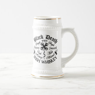 Black Death 777 - Honey Irish Whiskey Beer Stein