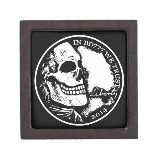 Black Death 777 - Liberty Jewelry Box