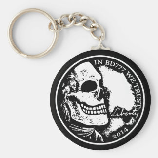 Black Death 777 - Liberty Keychain