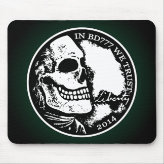 Black Death 777 - Liberty Mouse Pad
