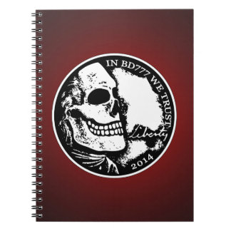 Black Death 777 - Liberty Spiral Note Book