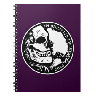 Black Death 777 - Liberty Note Book