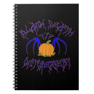 Black Death 777 - Octoberfest Spiral Notebooks
