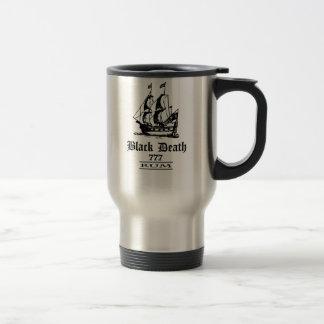 Black Death 777 - Ol Ships Rum 15 Oz Stainless Steel Travel Mug