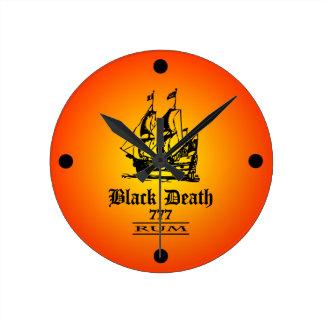 Black Death 777 - Ol Ships Rum Wall Clocks