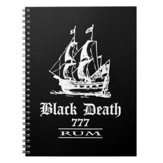 Black Death 777 - Ol Ships Rum Notebook