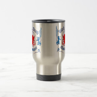 Black Death 777 - Red Louie Travel Mug