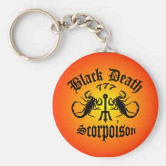 Black Death 777- Scorpoison Vodka Keychain