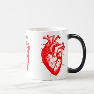 Black Death 777 - St Valentine Brandy 11 Oz Magic Heat Color-Changing Coffee Mug
