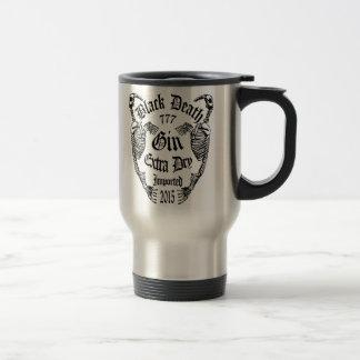 Black Death 777 - Walrus Bone Gin 15 Oz Stainless Steel Travel Mug
