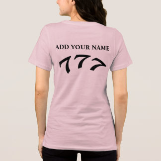 Black Death 777 - Your 777 Add Your Name Shirts