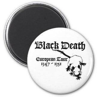 Black Death European Tour Fridge Magnet