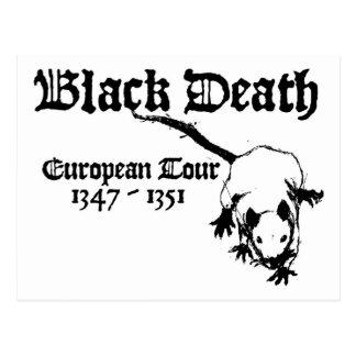 Black Death European Tour Postcard