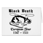 Black Death Greeting Cards
