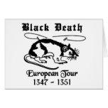 Black Death Greeting Cards