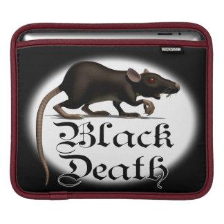 Black Death Rat iPad Sleeves