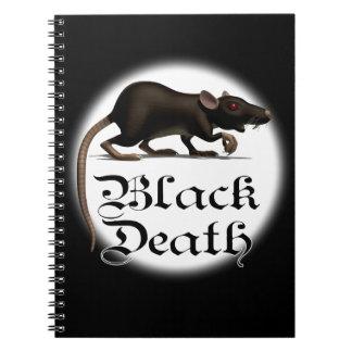 Black Death Rat Note Books