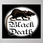 Black Death Rat Posters