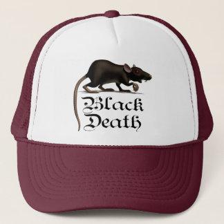 Black Death Rat Truckers Caps