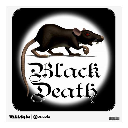 Black Death Rat Wall Decal