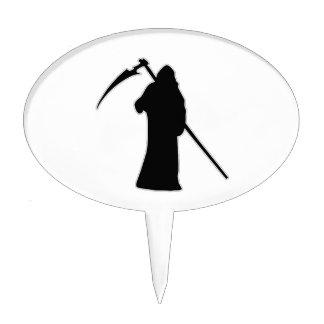 Black Death spooky figure Cake Topper
