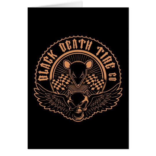 Black Death Tire Co. -Or Card
