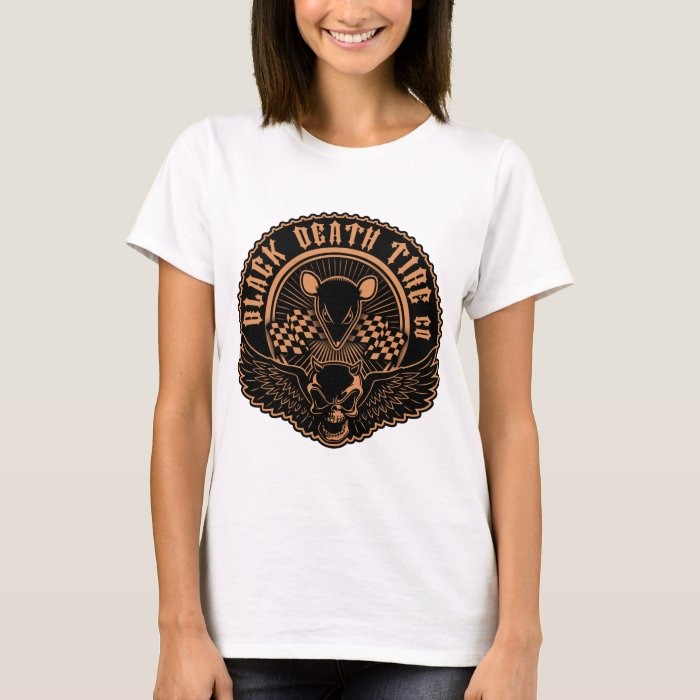 Black Death Tire Co. -Or T-Shirt