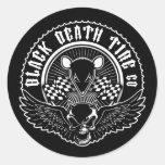Black Death Tire Co. Stickers