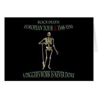 Black Death World Tour Original Design Cards