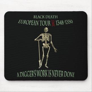 Black Death World Tour Original Design Mouse Pad