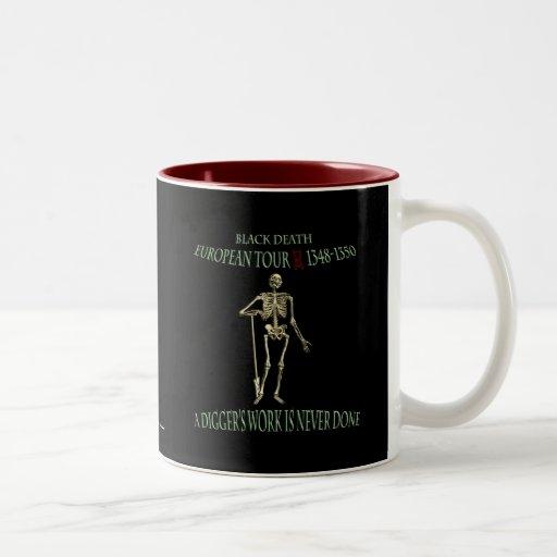 Black Death World Tour Original Design Coffee Mug