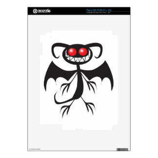 BLACK DEMON iPad 2 SKIN