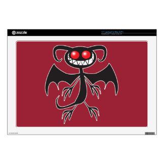 Black Demon Laptop Skin