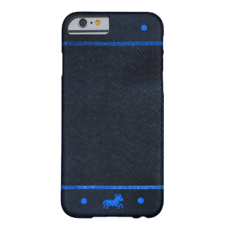 Black Denim Background Barely There iPhone 6 Case