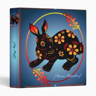 Black Designed Rabbit binder_1_back.v4, Binder