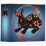 Black Designed Rabbit binder_2_front.v4 Binder