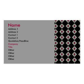 Black Diamond - business card template
