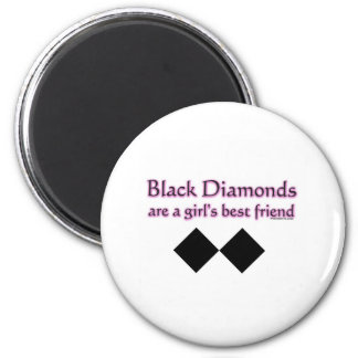 Black diamonds are a girls best friend magnet
