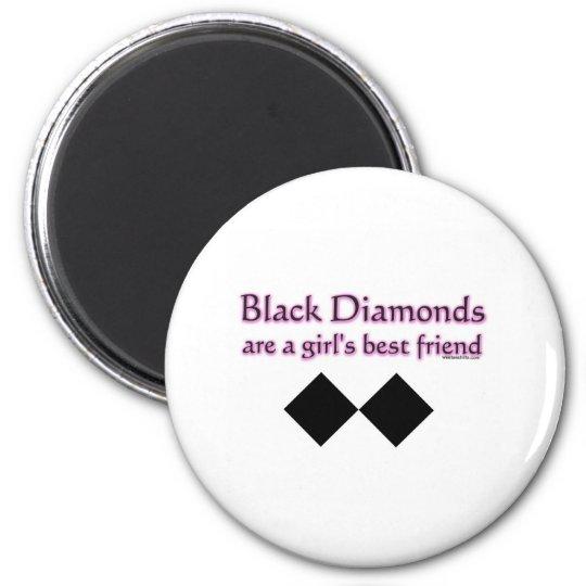 Black diamonds are a girls best friend magnet