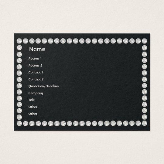 Black Diamonds - Chubby Business Card