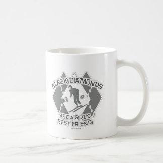 Black Diamonds Coffee Mugs