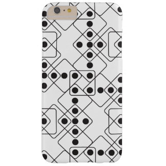 Black Dice Barely There iPhone 6 Plus Case