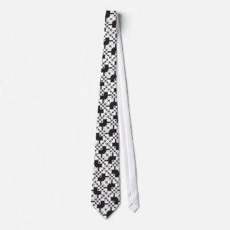 Black Dice Neck Tie